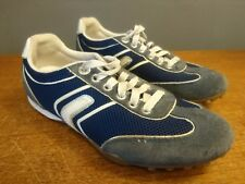 Geox Womens Respira Blue Trainers Sports Shoes Lace Up Size 37 Eur UK 4