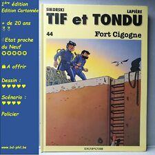 Tif et Tondu, 44, Fort Cigogne,Sikorski, Lapière, Dupuis, EO, 1996, EN, C