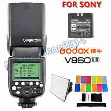 Godox V860II-S Camera Flash Speedlite for Sony A7 A99 2.4G HSS 1/8000 TTL GN60