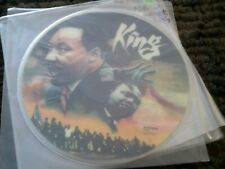 MARTIN LUTHER KING * RARE PICTURE DISC * SPEECHES * AUDIOFIDELITY VINYL LP