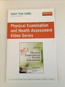PHYSICAL EXAMINATION and HEALTH ASSESSMENT Video Series ~ Access Code ~ 7th Ed