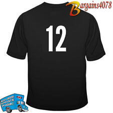 iron-on transfer numbers white  #1 to #11 (20cm high) for sports jersey etc.