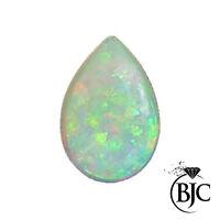 BJC® Loose Cultured Opal Pear Cut Cabochon Cut Multiple Cultured Opals Stones
