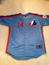 VINTAGE Majestic Pete Rose Montreal Expos Jersey   3XL