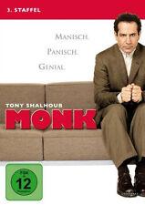 4 DVDs * MONK - STAFFEL 3 # NEU OVP