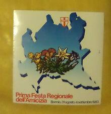 VECCHIO ADESIVO - LIBERTAS - 1983 (CC2)