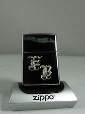 3654 Zippo Feuerzeug mit Wunschgravur Initialen