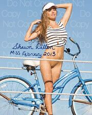 Shawn Dillon 2 Miss Feb 2013 signed 8X10 photo picture poster autograph RP