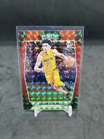 2017-18 PANINI PRIZM MOSAIC LONZO BALL RED REFRACTOR RC ROOKIE LA LAKERS Pelican