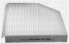 BORG & BECK CABIN POLLEN FILTER FOR AUDI ESTATE A4 ALLROAD 2.0 120KW