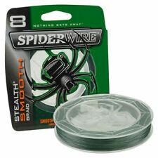 Trecciati Spiderwire per la pesca