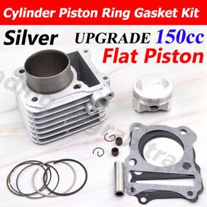Cylinder Piston Big Bore 150cc For Suzuki GN125 EN125 GS125 GZ125 TU125 DR125