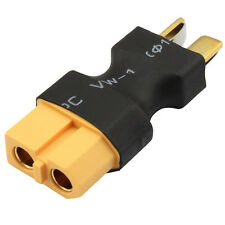 Deans T-Plug Male Connector To RC XT60 Female Connector Conversion Lipo Adapter