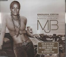 MARY J BLIGE feat BROOK-LYN Enough Cryin'  5 TRACK CD NEW - NOT SEALED