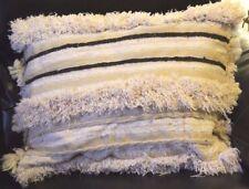 """Handira design Pillow from Vintage Moroccan Wedding Blanket #Hp05 22"""" x 19"""""""
