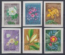 Vietnam (Viet-Nam) - Nr. 301-306 U postfrisch/** (ungezähnt, Motiv: Blüten)