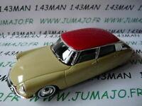NB0 Voiture 1/43 SOLIDO : CITROËN DS 19 1956 crème toit rouge