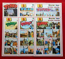 TERRY E I PIRATI # 1/6  COMPLETA  COLLANA GERTIE DAILY  EDIZ. COMIC ART