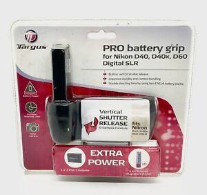 Targus PRO Battery Grip for Nikon D40, D40x, D60 Digital SLR