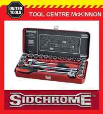 "SIDCHROME SCMT14110 24pce METRIC & A/F ½"" SOCKET SET"