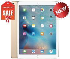 NEW Apple iPad Pro 128GB, Wi-Fi + 4G AT&T (Unlocked), 12.9in - Gold