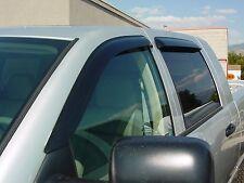 Tape-On Wind Deflectors for 2003 - 2008 Dodge Ram 2500/3500 Quad Cab