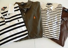 Polo by Ralph Lauren XL Mens Casual Shirts Cotton Striped Solid Lot of 4