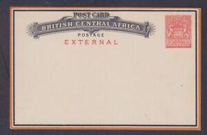 British Central Africa, HG 2, Post Card fine unused, Lot 7162