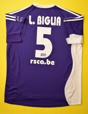 4.7/5 ANDERLECHT #5 L. BIGLIA 2006~2007 ADIDAS FOOTBALL AWAY SHIRT JERSEY
