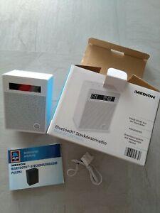 MEDION MD 47002 Steckdosenradio Bluetooth Funktion Radio Licht Bewegungssensor
