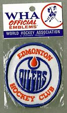 Edmonton Oilers WHA World Hockey Association Patch