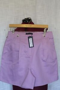 WOMEN'S LILAC M&S SHORTS SIZE 12