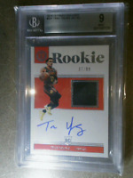 TRAE YOUNG 2018-19 Encased RPA Rookie Patch Auto 10 BGA 9 #201 #d /99 ATL HAWKS