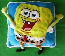"SPONGEBOB SQUAREPANTS 3D PLUSH THROW PILLOW - 14"" SQUARE"