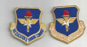 PATCH USAF AIR TRAINING & AIR EDUCATION & TRAINING COMMAND PAIR     JP