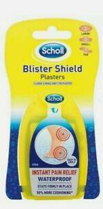 Scholl Blister Shield Mixed Plaster Unisex Deodorizers Water Repellent Flexible
