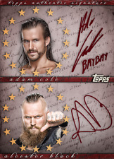 Topps SLAM WWE Adam Cole RED Signature NXT TAKEOVER 2018 [DIGITAL CARD] 500cc