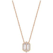 NWT Swarovski FAVOR Crystal Pendant Rose Gold Necklace 5226274