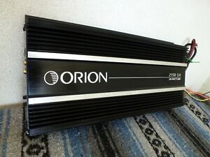 Orion 2150SX Old School SQ 2150 SX USA made 2 Channel SQ amp Very Nice!