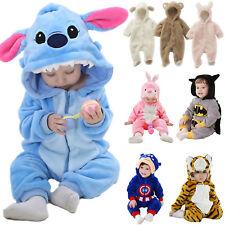 Unisex Baby Kids Kigurumi Animal Pajamas Sleepwear Bath Robe Cosplay Costume Set