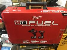 Milwaukee FUEL M18 Hammer Drill and Impact Driver Kit 2 X 5.0 BATTERY - 2997-22