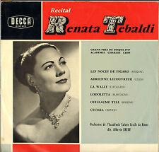 """RENATA TEBALDI """"RECITAL"""" OPERA 50'S LP DECCA LXT 5220"""