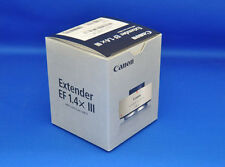 Canon Extender EF 1.4x III Camera Lens Japan Domestic Version New