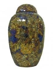 New Modern Quality Cremation Urn Adult Ashes in Galaxy Large 220 CU's