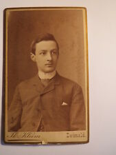 Annecy - 1874-Hans von Lengerke comme jeune homme/CDV