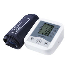Tensiómetro de Brazo Digital Arterial Presión Detección Pulsometro Arritmias LCD