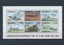 LM15862 Nicaragua WW2 events military good sheet MNH