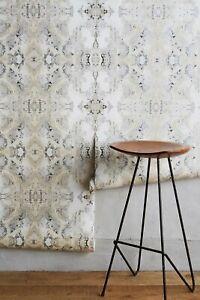 Anthropologie Inner Beauty Wallpaper Neutral Motif Single Roll 60 Sq ft