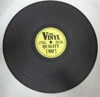 Tischset Schallplatte Platzset The Vinyl 2 Untersetzer Durchmesser 39 cm.
