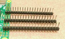 3 x 20 Pin Male Single Row Header GPIO Connector Pi Zero + More *Fast Ship US*